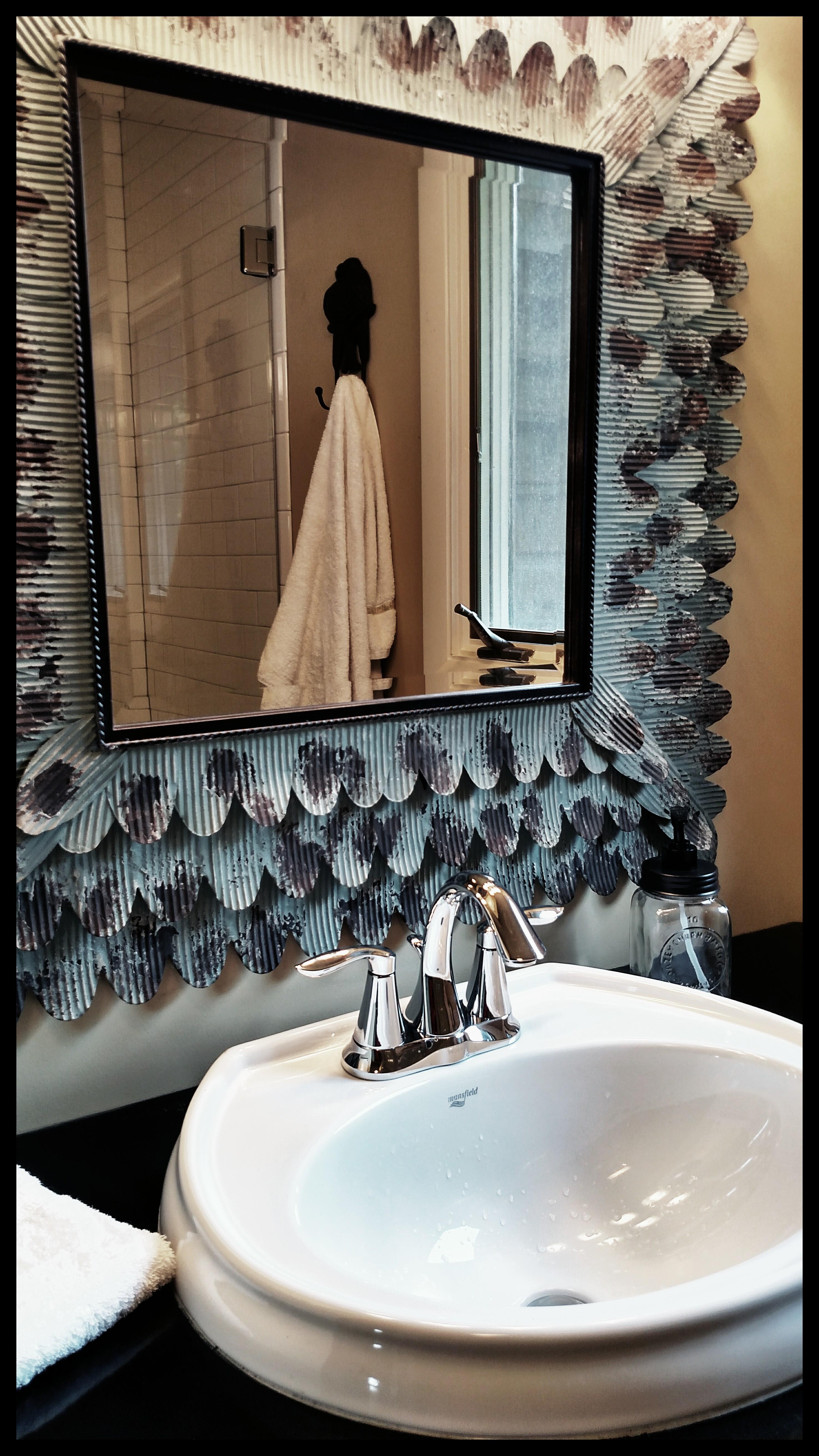 mirror bath